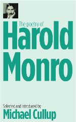 The Poetry of Harold Monro book cover.  Author Michael Cullup